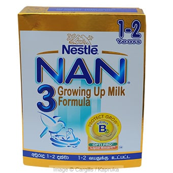 NAN 3 GR UP MILK FORMULA - 350GR at Kapruka Online for Foodcity