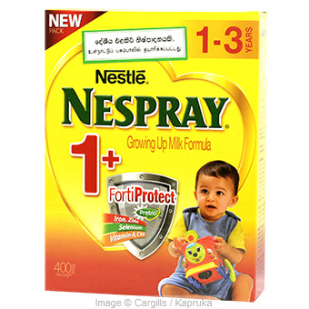 NESPRAY 1+ - 400 GR at Kapruka Online for Foodcity