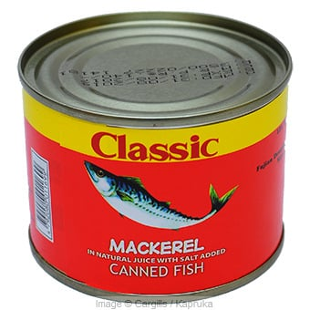CLASSIC MACKEREL - 200 GR at Kapruka Online for Foodcity