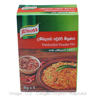 KNORR MALDIVEFISH POW.MIX - 40GR at Kapruka Online for Foodcity