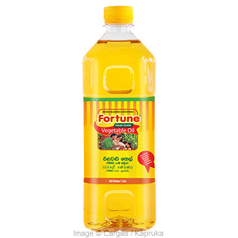 FORTUNE VEGETABLE OIL - 1   LTat Kapruka Online forFoodcity