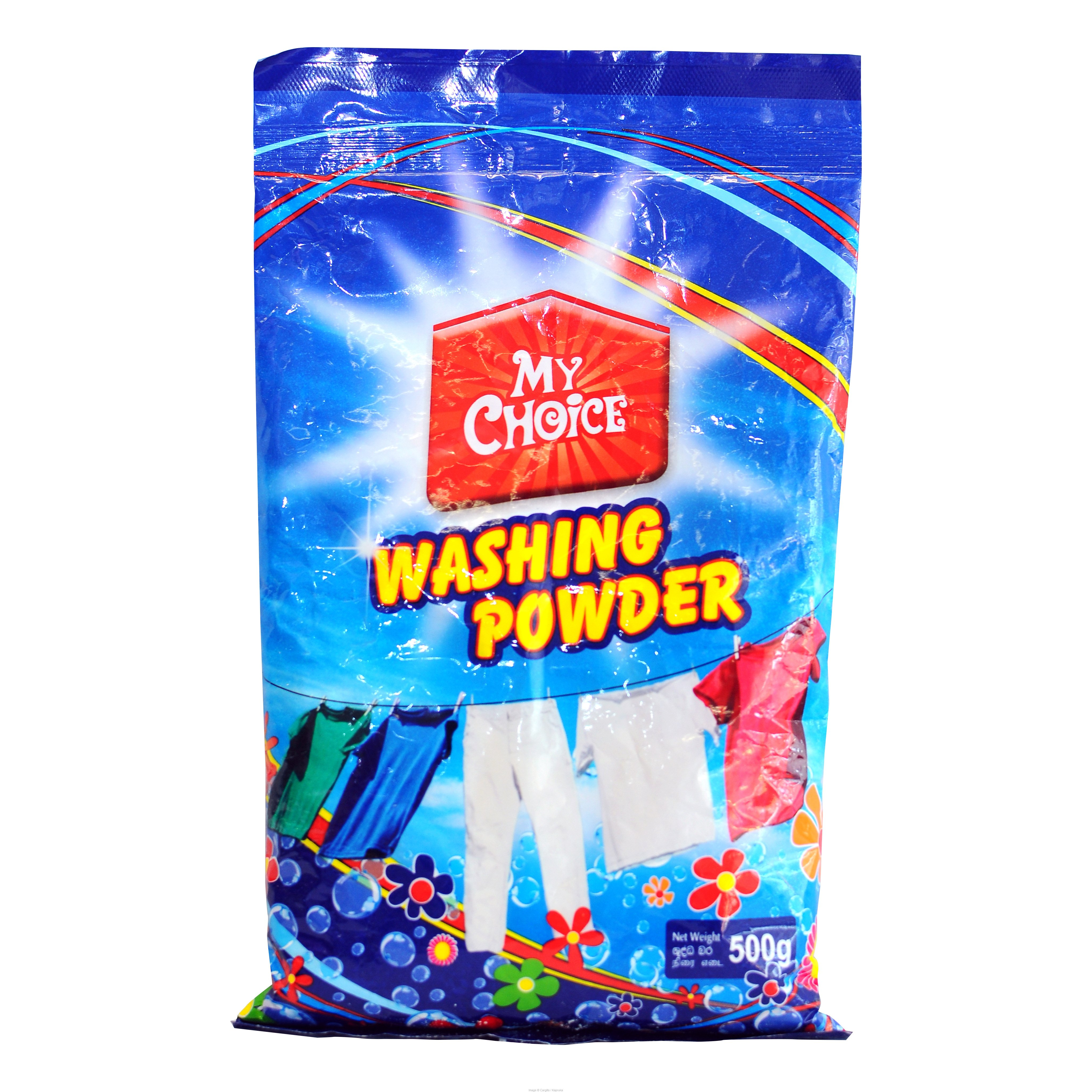 MY CHOICE WASHING POWDER - 500GR at Kapruka Online for Foodcity