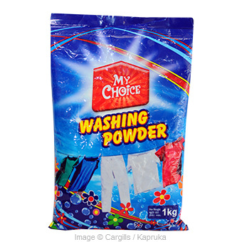 MY CHOICE WASHING POWDER - 1KG at Kapruka Online for Foodcity