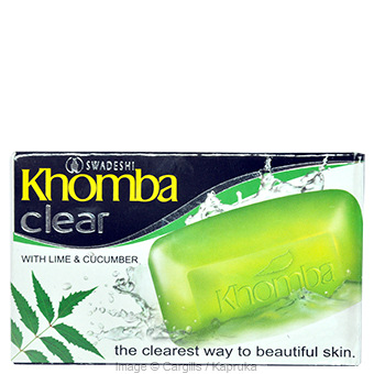 KHOMBA CLEAR SOAP - 75GR at Kapruka Online for Foodcity