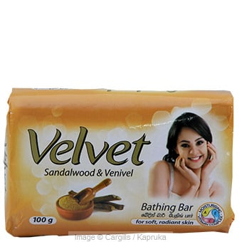 VELVET SANDALWOOD SOAP - 100GR at Kapruka Online for Foodcity