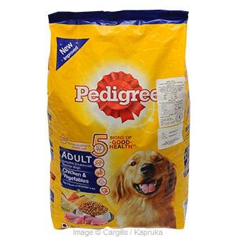 PEDIGRE ADULT CHI&VEGETABLE - 3KG at Kapruka Online for Foodcity