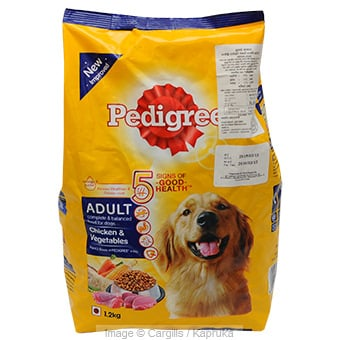 PEDIGREE ADULT CH & VEGE - 1.2KG at Kapruka Online for Foodcity