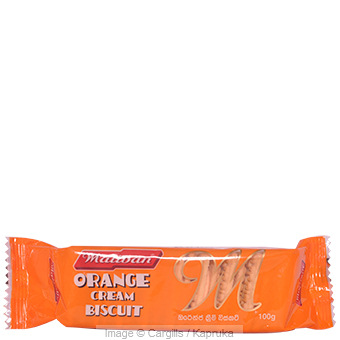 MALIBAN ORANGE CREAM - 100 GR at Kapruka Online for Foodcity