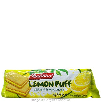 MALIBAN LEMON PUFF - 200 GR at Kapruka Online for Foodcity