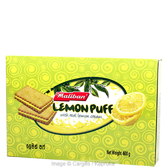 MALIBAN LEMON PUFF - 400GR at Kapruka Online for Foodcity
