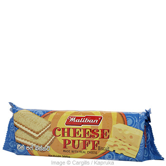 MALIBAN CHEESE PUFF - 200GR at Kapruka Online for Foodcity