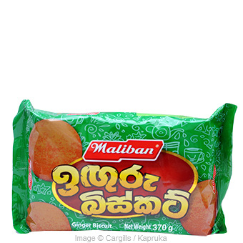 MALIBAN GINGER BISCUIT - 370GR at Kapruka Online for Foodcity