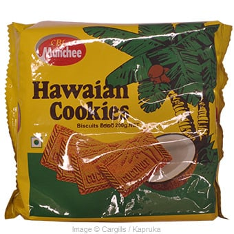 MUNCHEE HAWAIAN COOKIES BISCUI - 200 GR at Kapruka Online for Foodcity