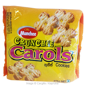 MUNCHEE CRUNCHEE CAROLS - 275GR at Kapruka Online for Foodcity