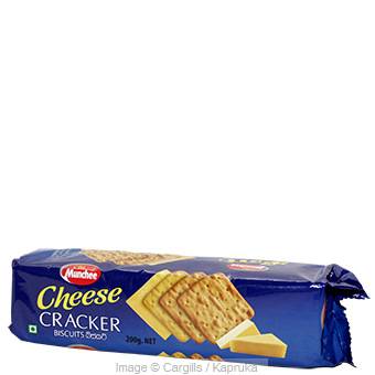 MUNCHEE CHEESE CRACKER - 200GR at Kapruka Online for Foodcity