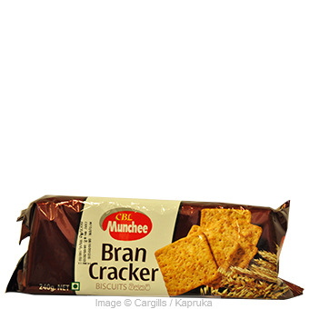 MUNCHEE BRAN CRACKER - 240GR at Kapruka Online for Foodcity