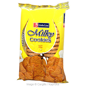 LITTLE LION MILKY COOKIES - 200GR at Kapruka Online for Foodcity