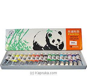 Box of Panda Water Color - 18 Tubes at Kapruka Online for specialGifts