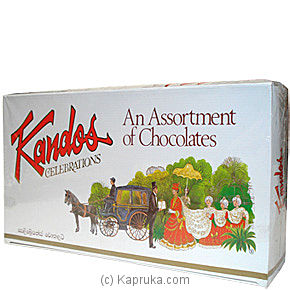 Kandos Celebrations Chocolate - 400g By KANDOS at Kapruka Online forspecialGifts