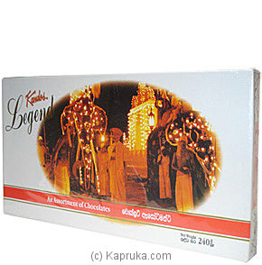 Kandos Legend an assortment Chocolate box - 200g By KANDOS at Kapruka Online forspecialGifts