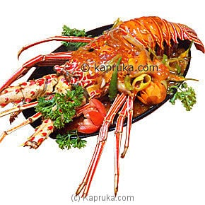Sizzling Lobster With Chillie and Tomato  (500 Gr) at Kapruka Online for specialGifts
