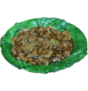 Button Mushroom With Green Vegetable at Kapruka Online for specialGifts