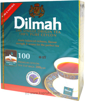 Dilmah Single Orgin Tea ( 100 Bags ) Pkt - 200g at Kapruka Online for specialGifts