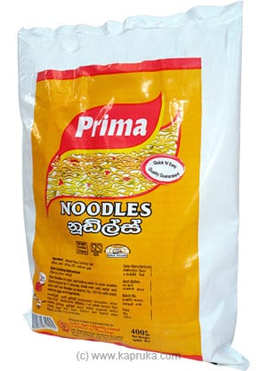 Prima Noodles pkt - 400g at Kapruka Online for specialGifts