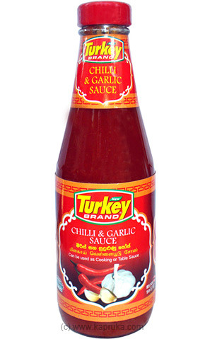 Turkey Chilli - Garlic Sauce Bottle- 405g at Kapruka Online for specialGifts