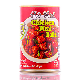 Elephant House Chicken Meat Ball Curry Tin - 400g at Kapruka Online for specialGifts