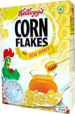 Kelloggs Corn Flakes With Real Honey 300g at Kapruka Online for specialGifts