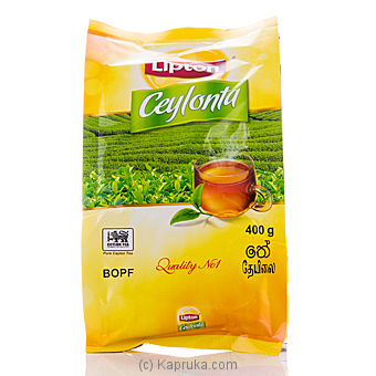 Lipton Ceylonta Tea pkt - 400g at Kapruka Online for specialGifts