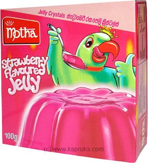Motha Strawberry Jelly Crystal pkt - 100g at Kapruka Online for specialGifts