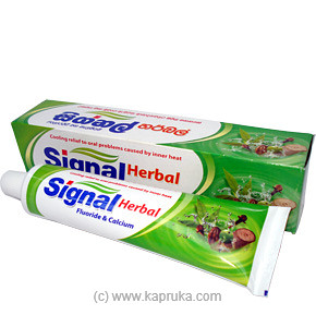 Signal Herbal Tooth Paste - 160gat Kapruka Online forspecialGifts