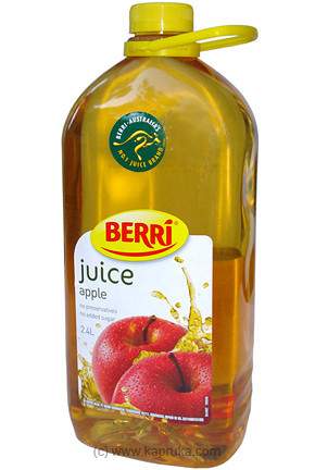 Suger Free Berri Apple Juice Bottle - large - 2.4 Ltr at Kapruka Online for specialGifts