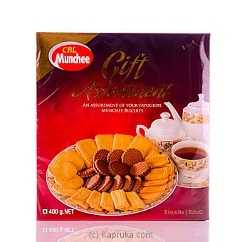 Box of Munchee Gift Assortment  - 400g at Kapruka Online for specialGifts