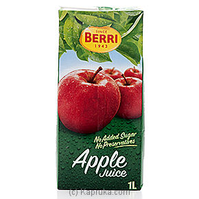 Sugar Free Berri Apple Juice  - 1 Ltr at Kapruka Online for specialGifts