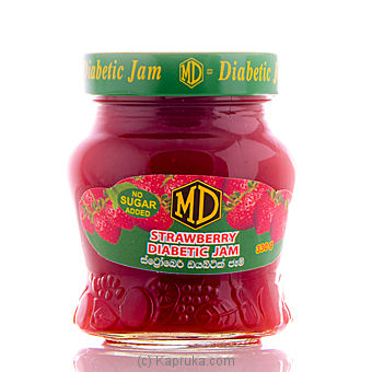 Diabetic Strawberry Jam Bottle - 330g at Kapruka Online for specialGifts