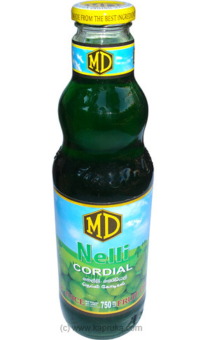 MD Nelli Cordial Bottle - 750ml at Kapruka Online for specialGifts