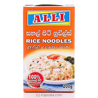 Alli Instant Rice Noodles Pkt - 200g at Kapruka Online for specialGifts