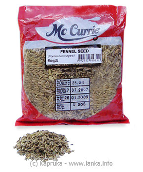 MCCURRIE Fennel seed pkt - 100gat Kapruka Online forspecialGifts