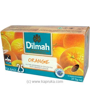 Dilmah Orange Tea (25 Bags) Pkt- 37.5g at Kapruka Online for specialGifts
