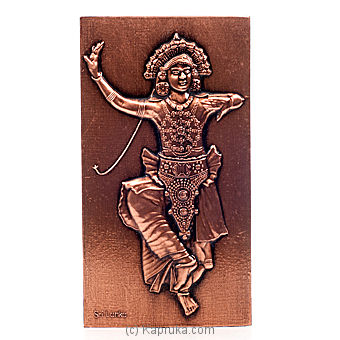 Copper Kandian Dancer at Kapruka Online for specialGifts