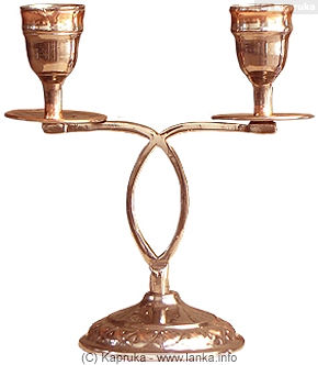Two way Oxidized Candle Stand at Kapruka Online for specialGifts
