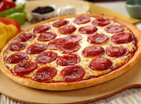 Beef Pepperoni Pan Pizza - Regular Size at Kapruka Online for specialGifts