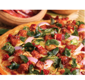 Chillie Chicken - Stuffed Crust Large at Kapruka Online for specialGifts
