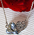 Double Heart Necklace at Kapruka Online