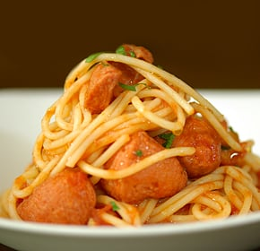 Chicken Sausage With Spaghetti - UK189 at Kapruka Online for specialGifts