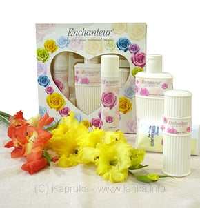 Enchanteur Gift Set at Kapruka Online