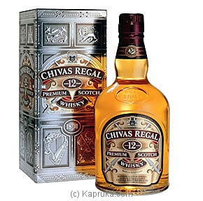 Chivas Regal Premium Scotch Whisky - 750ml Online at Kapruka | Product# liqprod100105